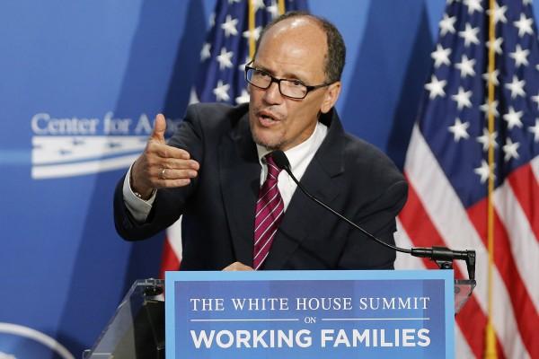 U.S. Secretary of Labor Thomas Perez