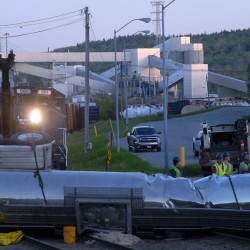 Verso paper mill assessing damage after train carrying paper derailed