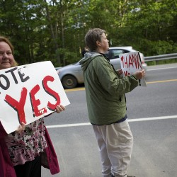 Clifton voters approve amended land use rules for Pisgah Mountain wind project