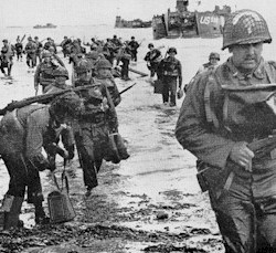 Old soldiers mark D-day on beaches of Normandy