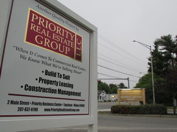 A Topsham developer is proposing to construct at least eight new buildings on a 19-acre development near the main entrance of Brunswick Landing.