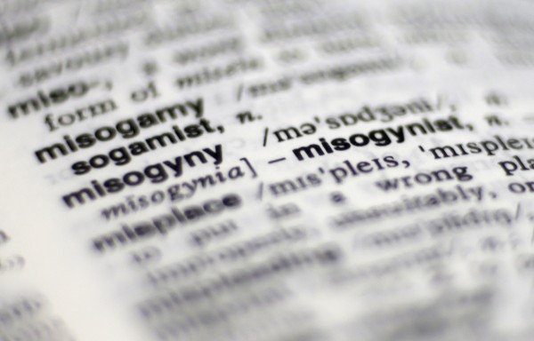 The entry describing the word &quotmisogyny&quot in a 2nd edition copy of The Macquarie Concise Dictionary on a coffee table in Sydney in this October 2012 file photo.