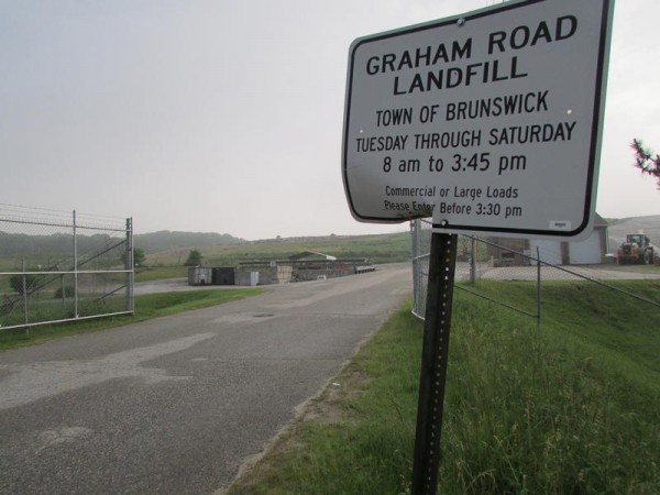 Brunswick officials are considering closing the town's Graham Road landfill, which has a long history of environmental violations.