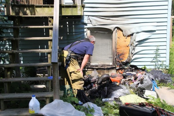 The state fire marshal's office was called in to investigate a fire that did minimal damage to a Rockland home Saturday morning.