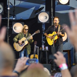 The Dave Matthews Band performed at Darling's Waterfront Pavilion Friday night.