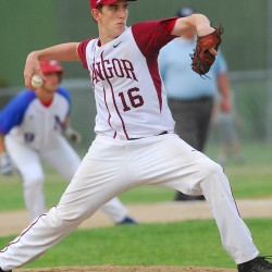 Caribou pitcher Curry cools off Foxcroft baseball team; Bangor Christian still undefeated