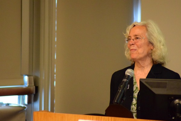 State Representative Joan Welsh said the state of Maine needs to focus on waste reduction and cannot continue to be a &quotthrowaway society&quot for the sake of future generations.