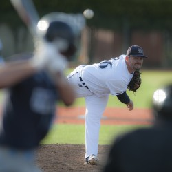 University of Maine pitcher Tommy Lawrence