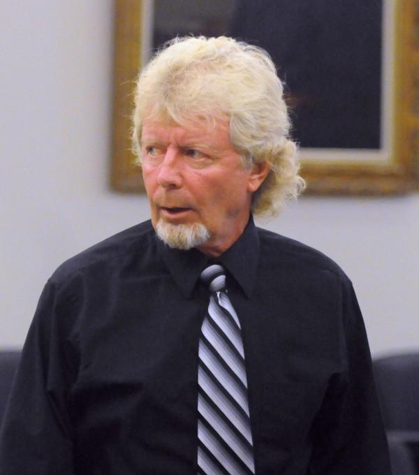 Dana Wilson at the Penobscot Judicial Center in Bangor