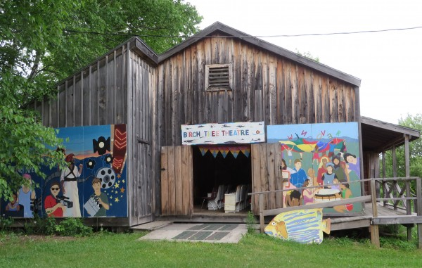 The Birch Tree Theater at Windover Art Center in June in Newburgh.