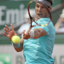 Nadal overcomes big-serving Brands, Sharapova also wins in Paris