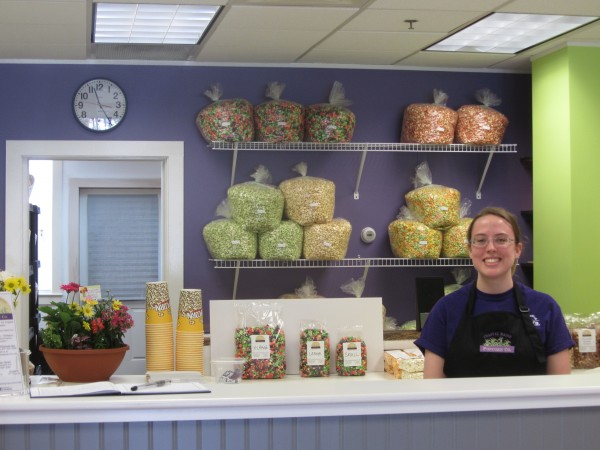 Coastal Maine Popcorn opened Saturday on Main Street in Rockland. The new store is one of several that have opened in Rockland in the past few months along with other existing city businesses relocating to Main Street.
