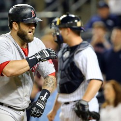 Napoli, Bogaerts power Red Sox past Yankees