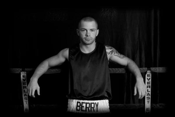 Boxer Brandon Berry of West Forks.