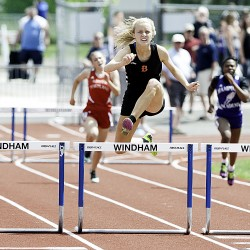 Camden Hills sprinter shows off speed in KVAC outdoor track meet