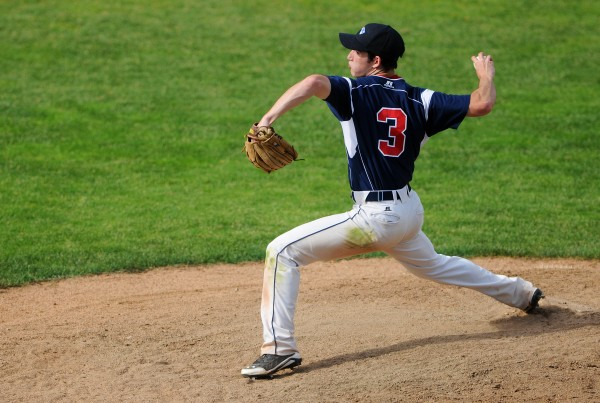 Bangor Christian's Cody Collins pitches to Wiscassett during their Class D baseball state championship game at Mansfield Stadium Saturday in Bangor. Bangor Christian won 5-4 in eight innings.