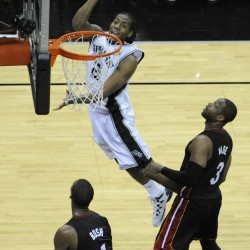 Green's hot finish carries Spurs past Heat in Game 1