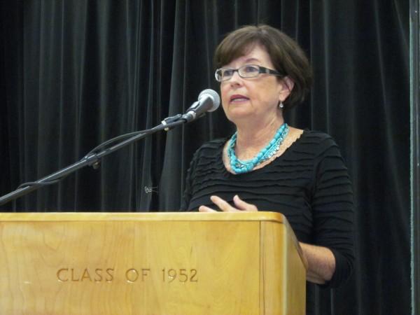 Karen MacDonald, a teacher at Portland's King Middle School