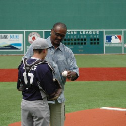 Little Fenway a big hit for players and charity