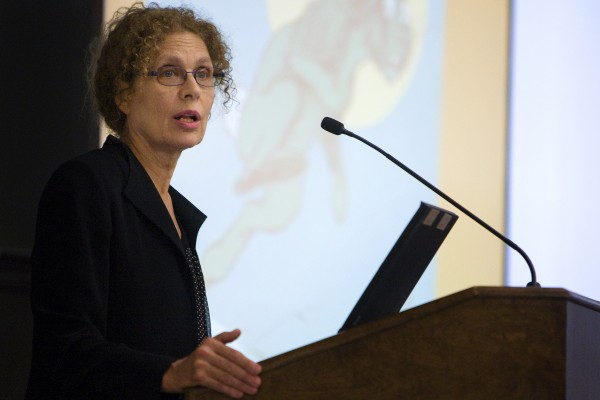 Teresa Ostler was the keynote speaker at the 20th Maine Child Welfare Conference held at the Wells Conference Center at the University of Maine. She addressed the audience on the topic of &quotAssessing Parenting Risk in Individuals with Major Mental Illness.&quot