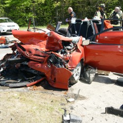 Identities released in Route 1A collision in Holden, which sent three to hospital, snarled traffic Friday