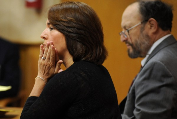 Danielle A. Beckwith, 47, of Hampden, who worked as the supervisor of the Office of Transcript Production, was tried Monday, June 30, before retired Judge John Romei in Newport District Court.