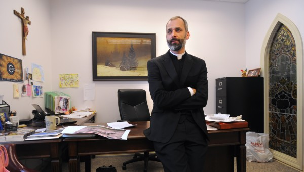 The Rev. Seamus Greisbach has been named director of vocations by the Roman Catholic Diocese of Portland.