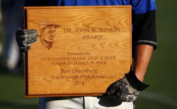 Dr. John W. Winkin Award