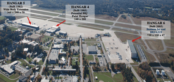 This aerial view of Brunswick Landing outlines plans by Tempus Jets to relocate its aircraft maintenance, repair and overhaul business to the former Navy base.