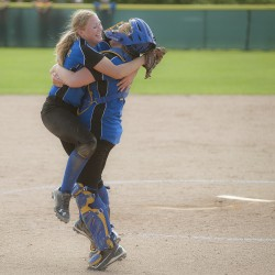 Hermon's Theberge blanks Central softball team; Hawks turn three double plays
