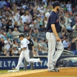 Boston's Doubront, three relievers shut down Yankees