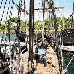 Nina and Pinta replicas to visit Kittery