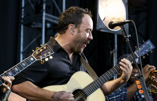 The Dave Matthews Band performed live Friday evening at the Darling's Waterfront Pavilion in Bangor.