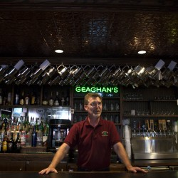 Geaghan's Restaurant & Pub owner Peter Geaghan said he has noticed an increase in the number of patrons from out of state since the Waterfront Concerts started.