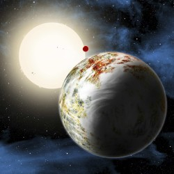 New 'super-Earth' might hold water, astronomers say