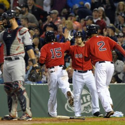Salty has 5 RBIs, Red Sox beat Indians for third straight win
