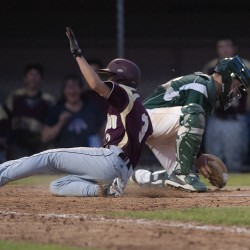 Seventh-inning run lifts Greely past Caribou for Class B baseball state title