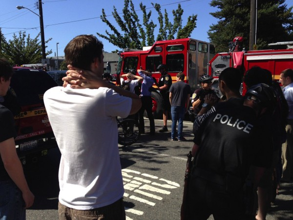 Seattle police are investigating a shooting on the campus of Seattle Pacific University on Thursday, June 5, 2014.