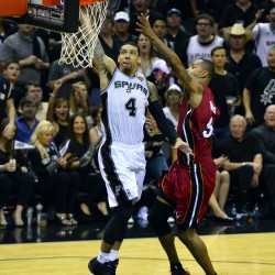 James scores 33 as Heat even series with Spurs