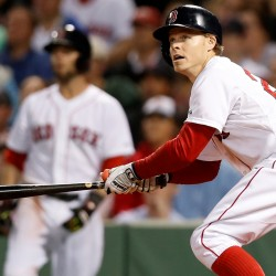 Napoli, Pedroia propel Red Sox past Indians