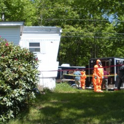 Investigators on scene of suspected meth lab in Merrill