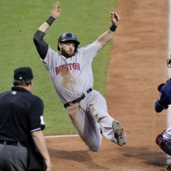 Indians get help from Red Sox and win