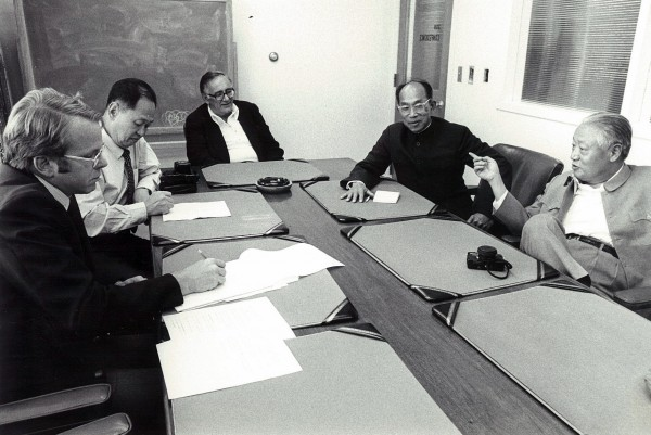 1978: Chinese delegates come to the BDN