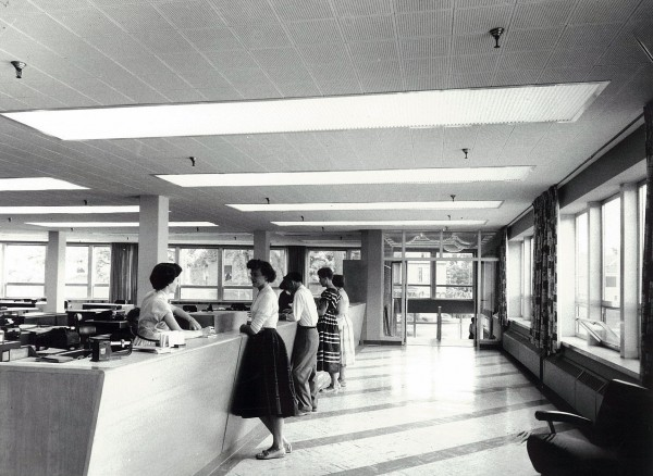 Late 1950s: BDN business office