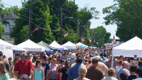 Attendees at the 2014 Maine Whoopie Pie Festival