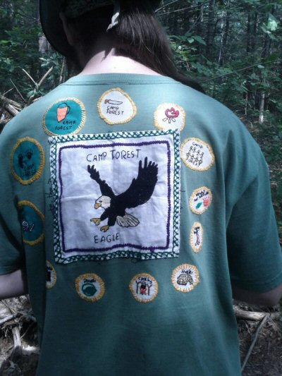 The Full EAGLE AWARD at CAMP FOREST
