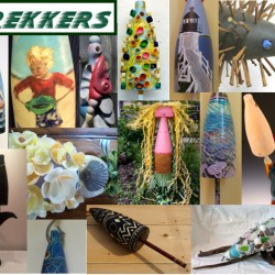 Trekkers' B.U.O.Y. Art will be featured at a Gallery Opening on July 1