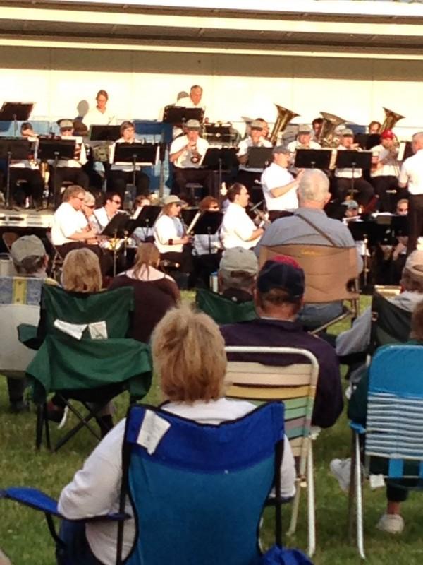 Bangor Band concert
