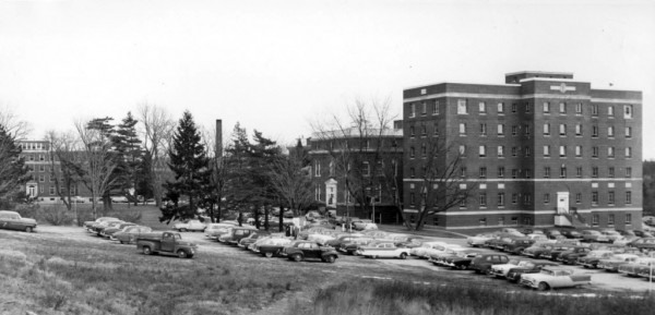 1955: Eastern Maine General Hospital was a much smaller complex than today's Eastern Maine Medical Center
