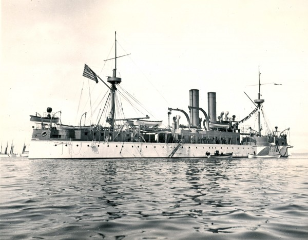 1898: Battleship Maine sinks in Havana Harbor